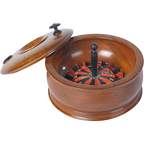 Wooden Roulette Wheel by Authentic Models