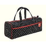 Prym 612211   Polka Dot Design Black White Knitting Storage Bag   44 x 14 x 43cm