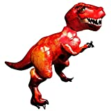 Giant 5ft T-Rex Dinosaur Balloon AirWalker Foil Jurassic Party World Park Life Size Big Inflated Dino Anagram by Anagram