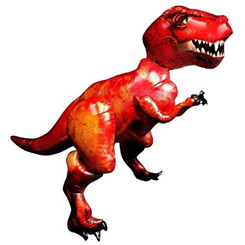 Anagram Giant 5Ft T-Rex Dinosaur Balloon Airwalker Foil Jurassic Party World Park Life Size Big Inflated Dino -