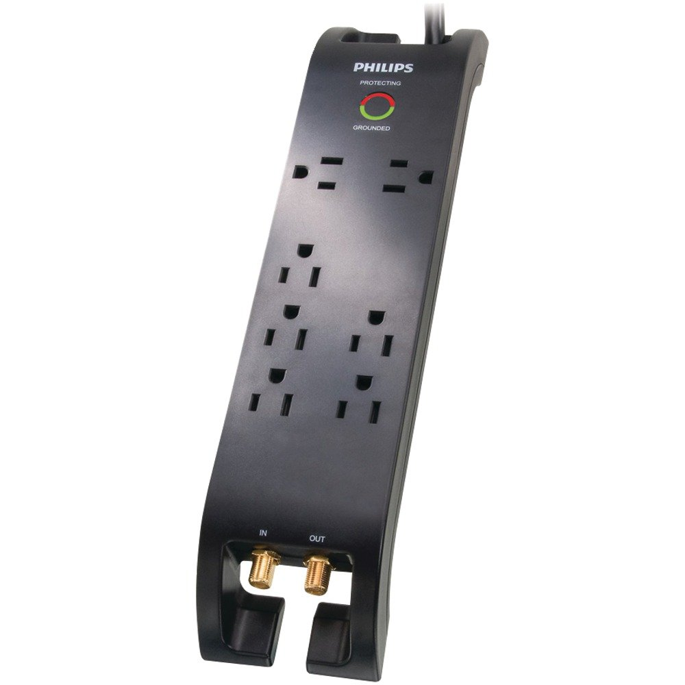 Philips SPP5074E/17 Home Theater Surge Protector by Philips