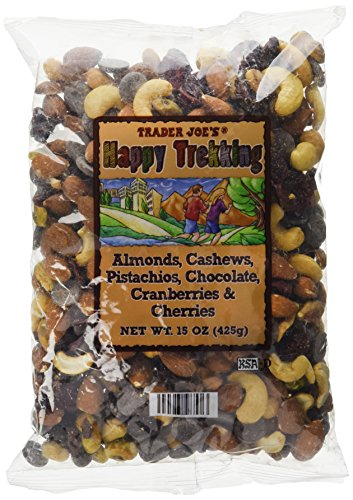 Trader Joe's Almonds, Cashews, Pistachios, Chocolate, Cranberries & Cherries...Low Sodium, No Gluten