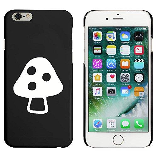 Noir 'Champignon Vénéneux' étui / housse pour iPhone 6 & 6s (MC00085834)