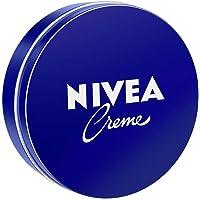 Nivea Cream i 6-pack (6 x 150 ml), klassisk hudkräm för hela kroppen, närande fuktkräm