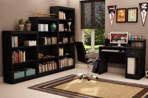 South Shore Axess Collection Desk, Black