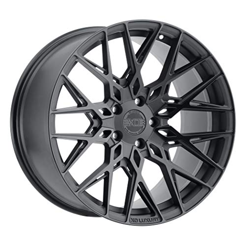 XO LUXURY Phoenix Double Black Wheel with Painted Finish (19 x 11 inches /5x120 mm, 40 mm Offset)