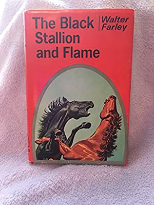 book cover of The Black Stallion and Flame