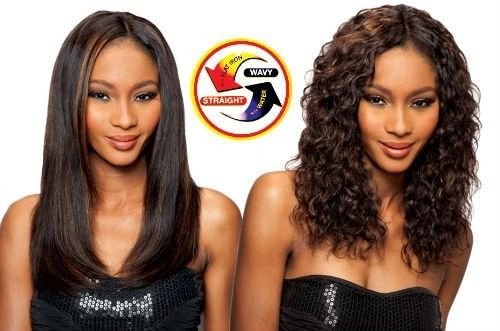 (SAGA 100% HUMAN HAIR INDIAN REMY WET & WAVY - LOOSE DEEP 4PCS (1B Off Black))