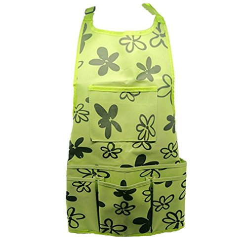 Work Apron Garden Apron for Home Garden,Heavy Duty Work Apron with Tool Pockets Adjustable up to XXL for Men & Women by w&m