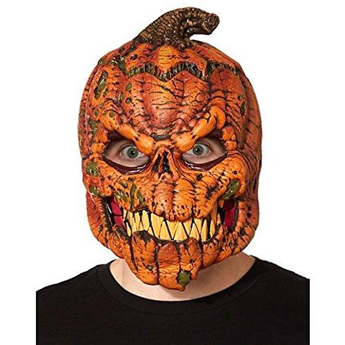 Costume Beautiful Animotion Pumpkin Mask ()