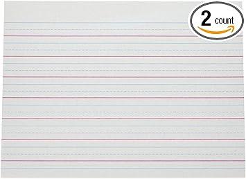 Amazon Com Pacon Multi Program Handwriting Paper 10 1 2 In