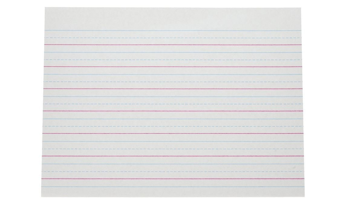 Pacon Multi-Program Handwriting Paper, 10-1/2 x 8 Inches, Pack of 500 - 2421, White