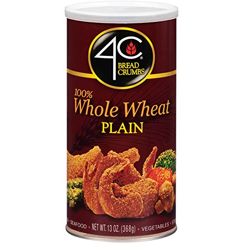 4C Whole Wheat Plain Bread Crumbs 13 oz. (Pack of 3) (Wheat Crumbs Bread Whole 100)