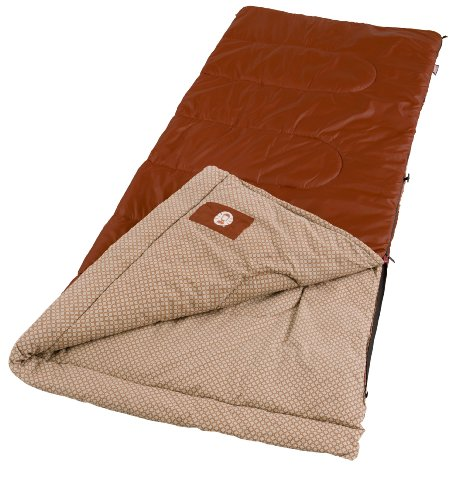 Coleman Clear Lake Warm-Weather Sleeping Bag, Outdoor Stuffs