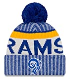 Los Angeles Rams New Era 2017 NFL Sideline On Field ''Historic'' Sport Knit Hat