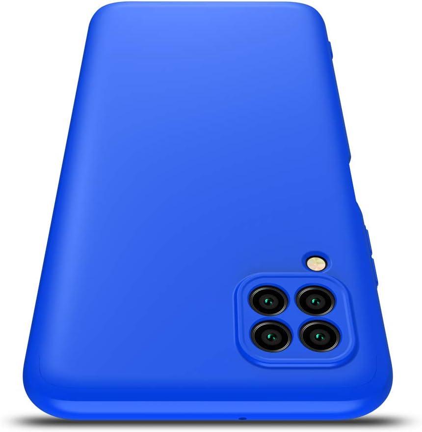 AChris Coque Huawei P40 Lite D/écran Housse de Protection en Plastique Durable Antichoc Ultra Mince Anti-Choc Anti Rayures Bumper Case Cover pour Huawei Nova 6se// P40 Lite//Nova 7i Bleu