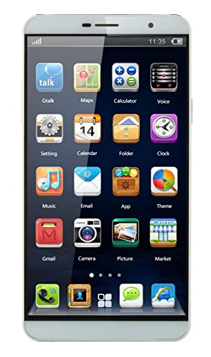 Dany M4 5 inch Android Smartphone in White Colour