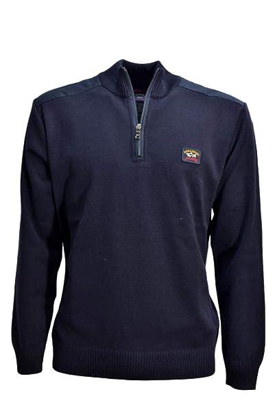 Paul /& Shark Fleece Sweatshirt Light Grey