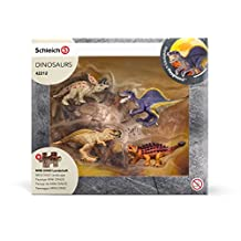 Schleich 42212 Mini Dinosaurs with Lava Field Puzzle Toy Figure