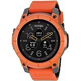 Nixon 'Mission' Smartwatch, Color:Orange (Model: A1167-2658)
