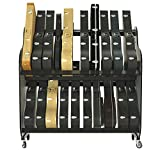 The Band Room Guitar Case Storage Cart For Guitar Collectors