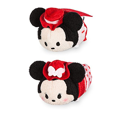 (Disney Mickey and Minnie Mouse ''Tsum Tsum'' Plush Valentine's Day 2017 Set - Mini 3 1/2 Inch)