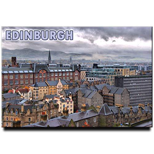 Edinburgh Fridge Magnet Scotland Travel Souvenir (Scotland Fridge Magnet)