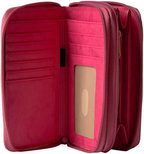 Heiress Wallet Zip Double Organizer Buxton Coral 61pdIwxqwC