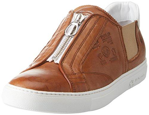 La Martina Cassetta, Sneaker Uomo Marrone (Cuoio)