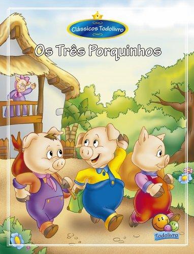 Amazon Com Classicos Todolivro O Tres Porquinhos Portuguese
