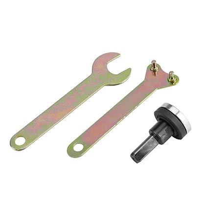 Brida Tuerca Llave para Dad accesorios para taladro eléctrico Cut Off ruedas de disco Tools vástago