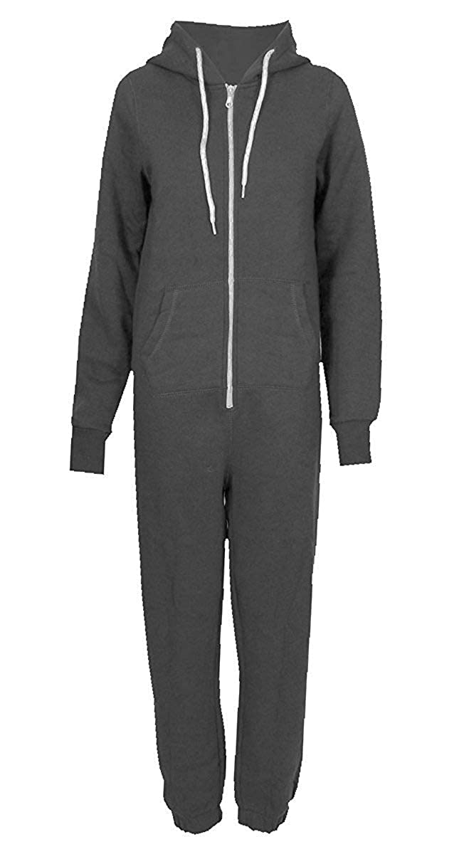CHOCOLATE PICKLE New Unisex Womens Mens Zip Hooded Onesie Jumpsuit Playsuit ONE Piece Suit S XL