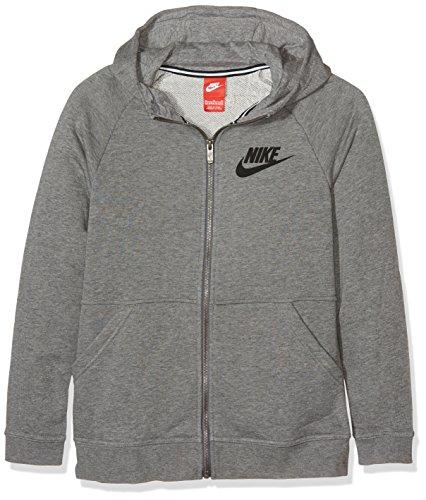 Nike Kids Roshe Twee Flyknit (gs) Loopschoenen Carbon Heide / Donkergrijs / Zwart