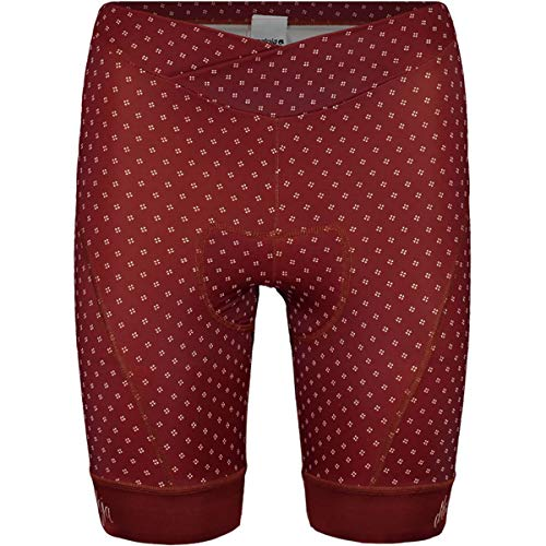 (Maloja ChaterinaM. 1/2 Chamois Bike Short - Women's Maroon, L)