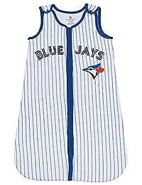 MLB Toronto Blue Jays Toddler Sleeper Sleeping Sack Infant Sleeper Blanket Sleep Bag Stripes 6-12 Months