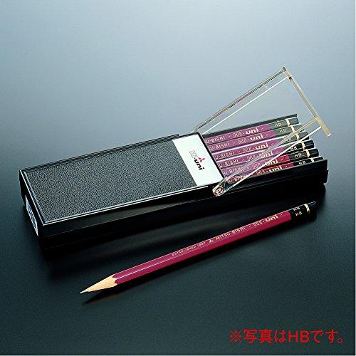 Uni Hi-Uni Wooden Pencil - HB - Box of 12 (HUHB)