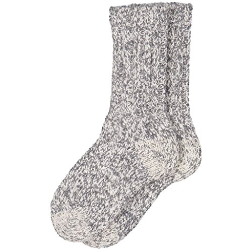 Layer Ragg Wool - POLARN O. PYRET RAGG WOOL SOCK (6-12YRS) - Greymelange/11-12 years