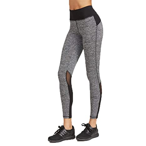 Shuangklei Pantalones De Chándal De Deporte De Fitness Gris ...