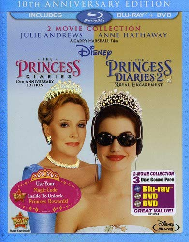 The Princess Diaries: Two-Movie Collection (Three-Disc Combo Blu-ray/DVD Combo in Blu-ray ()