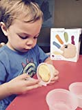 Eco-kids Eco-dough (6 containers) and Clay Tool Set