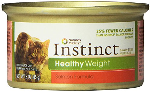 Instinct Grain-Free Healthy Weight Salmon Formula Canned Cat Food, 3 oz (case of 24)