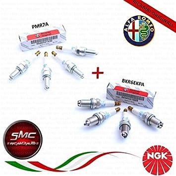 Serie 8 velas originales Alfa Romeo GT 2.0 Jts Twin Spark 121 kW: Amazon.es: Coche y moto