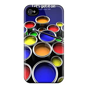 Wade-cases Design High Quality Paints Cover Case With Excellent Style For Iphone 4/4s