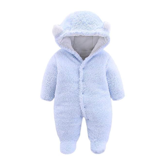 Amazon.com: Newborn Infant Baby Boys Girls Winter Snowsuits Cartoon ...