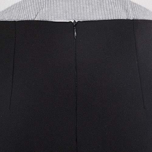 Club Taille Mini Haute FS7609 Noir Jupe Crayon Bodycon Grande DISSA Taille twRZFq6x