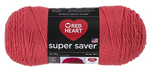 Red Heart Super Saver Yarn, Flamingo by Red Heart