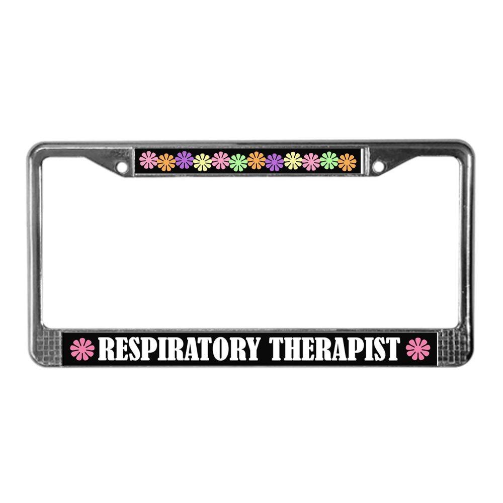Amazon Cafepress Respiratory Therapist License Plate Frame