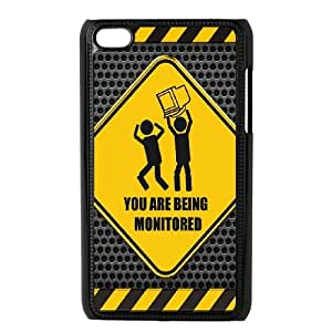 iPod Touch 4 Case Black Metal Humor Rendered VIU104383