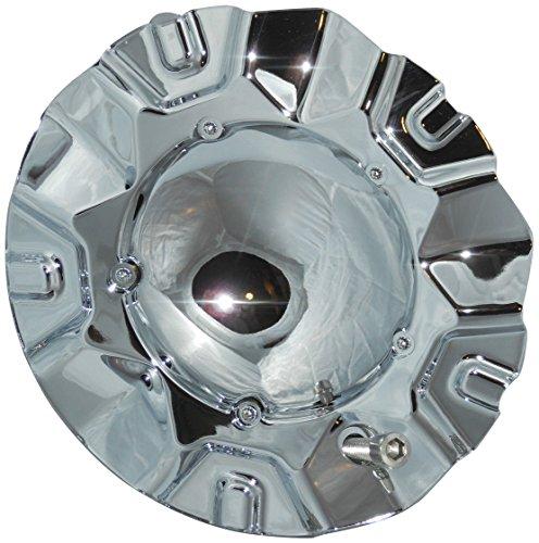 Aftermarket Akuza EMR0534-TRUCK-CAP LG0603-47 or S509-34 Wheel Rim Center Cap No - Rims Akuza Chrome