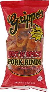 product image for Grippo's Hot & Spicy Pork Rinds 2oz Bags - 24ct